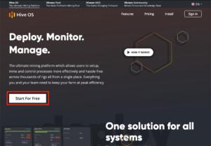 HiveOS公式ページ